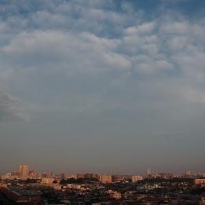 二重雲(層積雲)