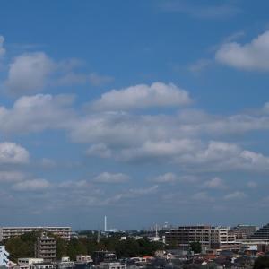 扁平雲(積雲)