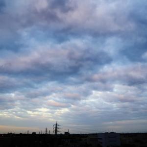 半透明雲(層積雲)