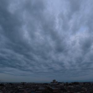 曇り空の主役は不透明雲(層積雲)