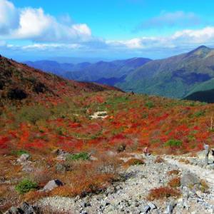 今年も那須岳の紅葉を見てきました