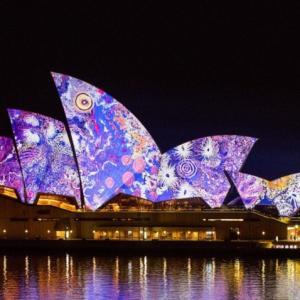 光・音・アイディアの祭典 ビビッドフェスティバルが素晴らしい 光りきらめくシドニーは必見!