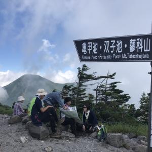八ヶ岳登山と白樺湖の苦い思い出