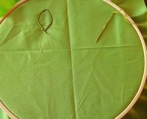 刺繍も楽しい&二重織でバッグ、いいかも!