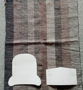 残り布で何しよう? & 作ってみたい手織りワイドパンツ