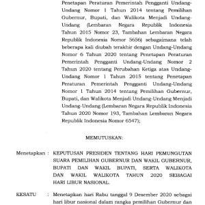 生産、仕事はどうするの? 一々、選挙を理由に休日にするなインドネシア!!
