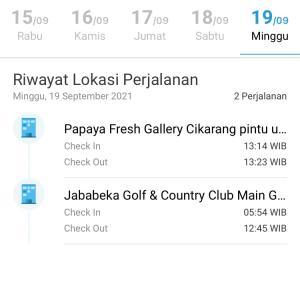 今日は、ゴルフもパパヤでも要求されたPeduliLidungiの使用