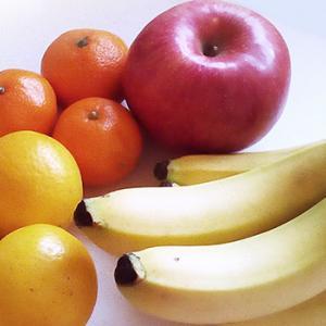果物もらった