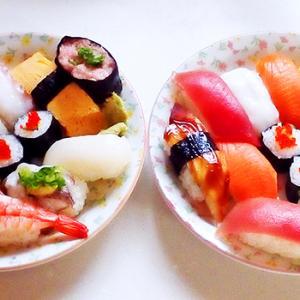 お寿司を食べる日がきた