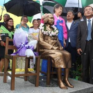 米首都近郊で少女像設置へ 韓国系団体が27日除幕式、米で5体目