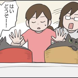 利き酒ならぬ効き猫