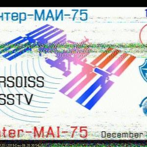 国際宇宙ステーションからSSTV