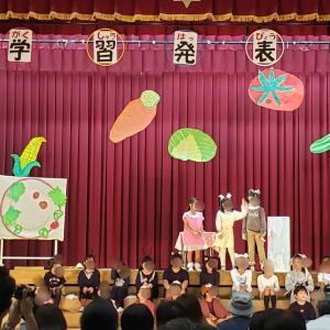 学習発表会と台風19号