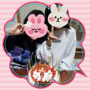 延期していた真ん中の娘の誕生日(*^^*)