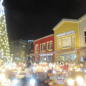 セントラルマリナのクリスマスツリー