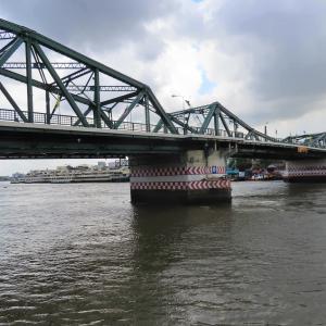 チャオプラヤに架かる橋①