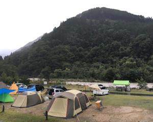奥飛騨温泉郷キャンプ場に来ております。^_^