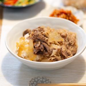 [低脂質な牛丼]冷凍レトルト:吉野家の牛すき焼きの具は意外と低脂質でした。
