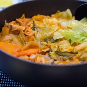[低脂質レシピ]無印のミネストローネ鍋はビスク鍋より低脂質でした
