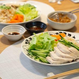 [低脂質レシピ]シンガポールチキンライス(カオマンガイ)は超簡単で低脂質でした