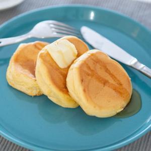 [低脂質レシピ]HMもBPも不要!卵1個のスフレパンケーキレシピ