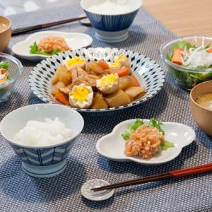 卵の飾り切りチャレンジと大根の煮物レシピ2つ。