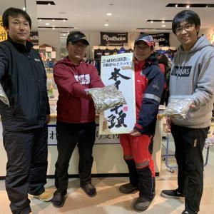 2019 12月15日(日)【桧原湖南部】G-目黒ワカサギ情報