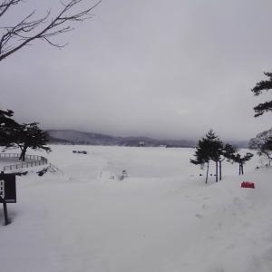 2021 1月17日(日)【桧原湖南部】G-目黒 わかさぎ情報