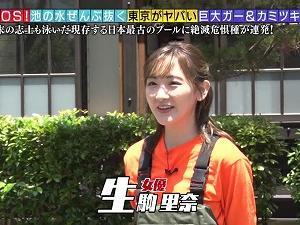 緊急SOS!池の水ぜんぶ抜く大作戦 生駒里奈 200726