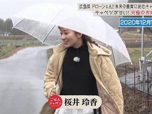 ごはんジャパン 桜井玲香 210116