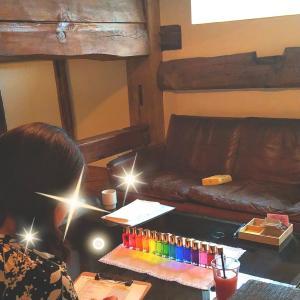 【レポ】カフェ・カラーセラピー
