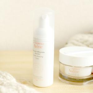 アベンヌの洗顔 スキンバランスフォームとクリーム ミルキージェルエンリッチのお値段と使い心地