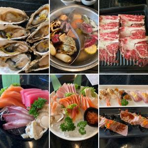 遂に刺身も寿司もしゃぶしゃぶも食べ放題で800バーツのローカルレストラン
