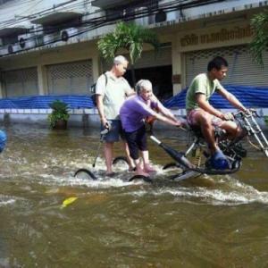 2011年の洪水再来か?じわじわ雰囲気が漂い始めたローカル民の行動