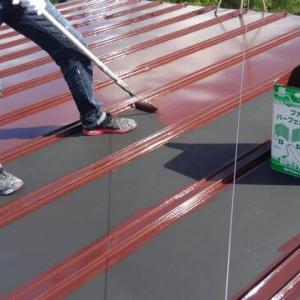 屋根と軒天の塗装