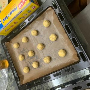 スノーボールクッキー