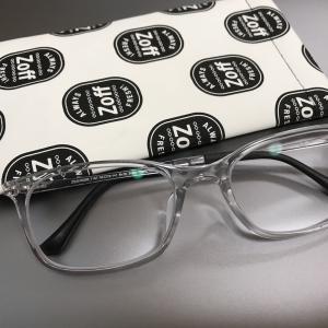 私がプラ製クリアカラーのメガネフレームを選ぶ理由【JINS・Zoff】
