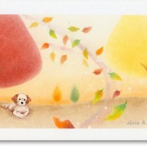 「秋の風」パステルアート&秋のキャンペーン イオンカルチャー西神中央教室