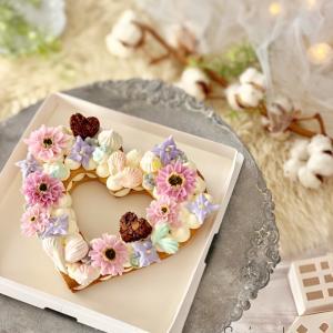 ナンバーケーキ♡クリスマスのスタイリング