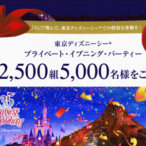 ディズニー貸切イベント「JALプライベート・イブニング・パーティー2018」の体験談