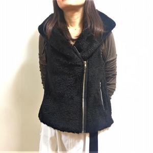 モコモコでおっきなフードがいい!オーダーのベスト♪ファッションを楽しもう!大阪受注会開催決定!(1/24-26)東京(1/14-19)名古屋(1/1-13・20-24・26-31)