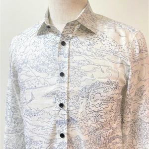夏の雰囲気薫る!インポートリネンでオーダーメイドのメンズシャツ!