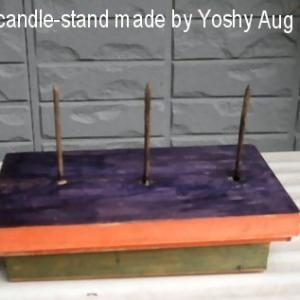 Updates: The Endos' original candle stand