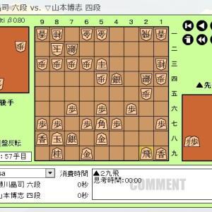 順位戦C級2組8回戦 ~瀬川晶司六段~