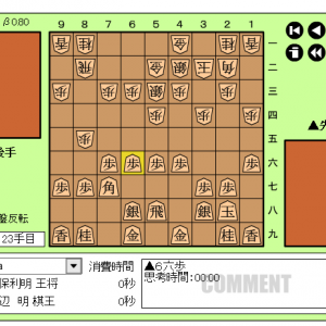 王将戦七番勝負~第2局~