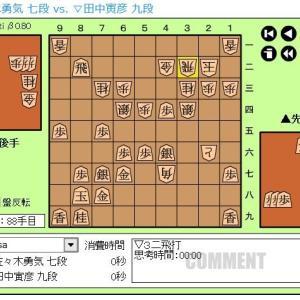 順位戦C級1組9回戦~佐々木勇気七段~