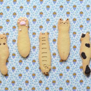 夏に嬉しい?猫クッキー