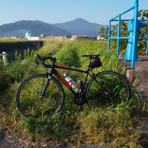 2ヶ月振り以上の自転車・・・。