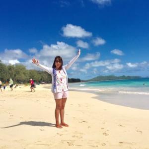 ワイマナロビーチの美しさに60代も感動!写真撮影のコツ紹介!カイルアタウンもいってみた♪