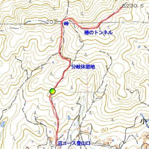 赤子山沼コース(平生町)1月25日